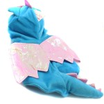 Alfie Couture Designer Pet Apparel - Smokie the Dragon Dinosaur Costume Blue 6