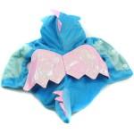 Alfie Couture Designer Pet Apparel - Smokie the Dragon Dinosaur Costume Blue 8