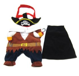 Alfie Pet Apparel by Petoga Couture - Jack the Pirate for Party Halloween Special Events Costume 2