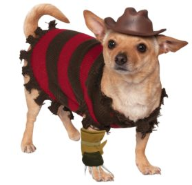 Rubies Costume Company A Nightmare on Elm Street Freddy Krueger Pet Costume, Small