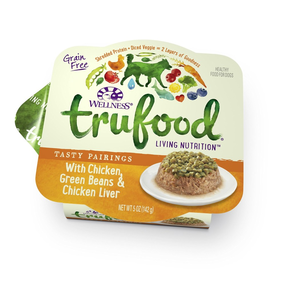 Wellness trufood tasty pairings natural grain free wet dog food wellness trufood tasty pairings natural grain free wet dog food chicken green beans chicken liver recipe 5 ounce can value pack of 24 forumfinder Images