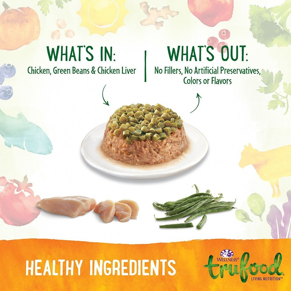 Wellness trufood tasty pairings natural grain free wet dog food wellness trufood tasty pairings natural grain free wet dog food chicken forumfinder Image collections