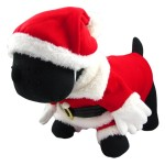Alfie Couture Designer Pet Apparel - Christmas Santa Claus Suit Costume - Color Red 2