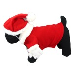 Alfie Couture Designer Pet Apparel - Christmas Santa Claus Suit Costume - Color Red 3