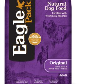 Eagle Pack Natural Dry Dog Food, Lamb Meal & Brown Rice Formula, 30-Pound Bag