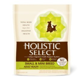 Holistic Select Natural Dry Dog Food, Small & Mini Breed Anchovy & Sardine & Chicken Meal Recipe, 3-Pound Bag