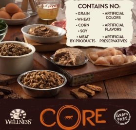 Wellness CORE Natural Grain Free Wet Canned Dog Food, Salmon, Whitefish & Herring Recipe, 12.5-Ounce (Value Pack of 12) 2