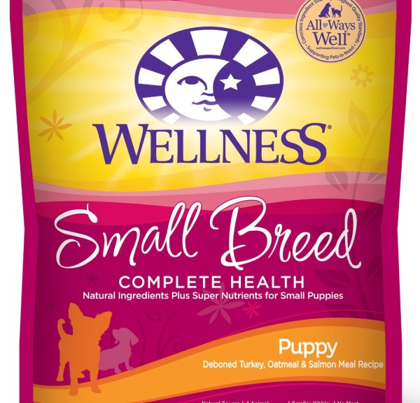 Wellness Complete Health Natural Dry Small Breed Dog Food Puppy