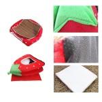 5-Sizes Portable Foldable Luxury Soft Sponge Strawberry Cat Pet Dog Tent House Kennel Doggy Puppy Cushion Pad Bed Nest 3