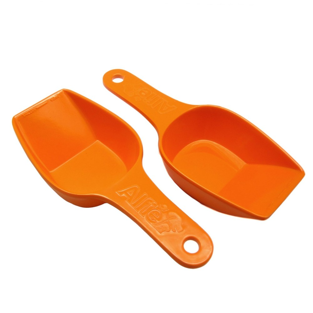 Alfie Pet by Petoga Couture - Quentin Food Scoop Set - Color Orange