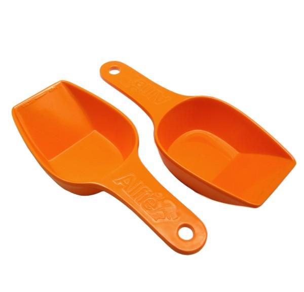 Alfie Pet by Petoga Couture - Quentin Food Scoop Set - Color Orange