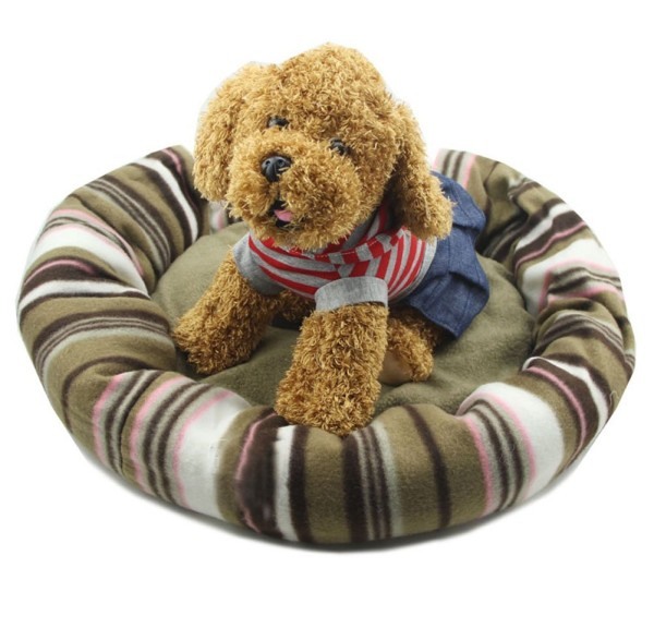 B-JOY Round Pet Bed House Comfortable Dog Bed