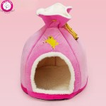 BOSUN(TM) Personalized Unique Money Bag Pet Dog House Foam PP Cotton Puppy Kennel Funny Chihuahua Teddy Small Dog Cave Beds
