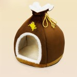 BOSUN(TM) Personalized Unique Money Bag Pet Dog House Foam PP Cotton Puppy Kennel Funny Chihuahua Teddy Small Dog Cave Beds 3