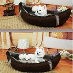 BOSUN(TM) Unique Boat Pet Dog Beds Detachable PP Cotton Padded Dog House Dampproof Bottom Puppy chihuahua Nest Bed 5