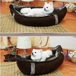 BOSUN(TM) Unique Boat Pet Dog Beds Detachable PP Cotton Padded Dog House Dampproof Bottom Puppy chihuahua Nest Bed 6