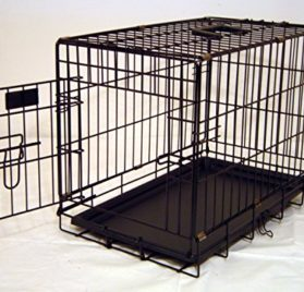 Everila 22 Cat Small Dog Folding Crate Cage Kennel Chihuahua Shih Tzu Yorkie