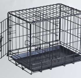 Homey Pet 18-24-30 Wire Dog Cage with Optional Floor Grid