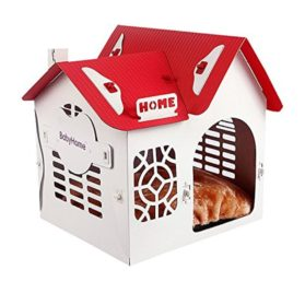 InTheHouse Elevated Detachable Dog House Kennel Pet Room