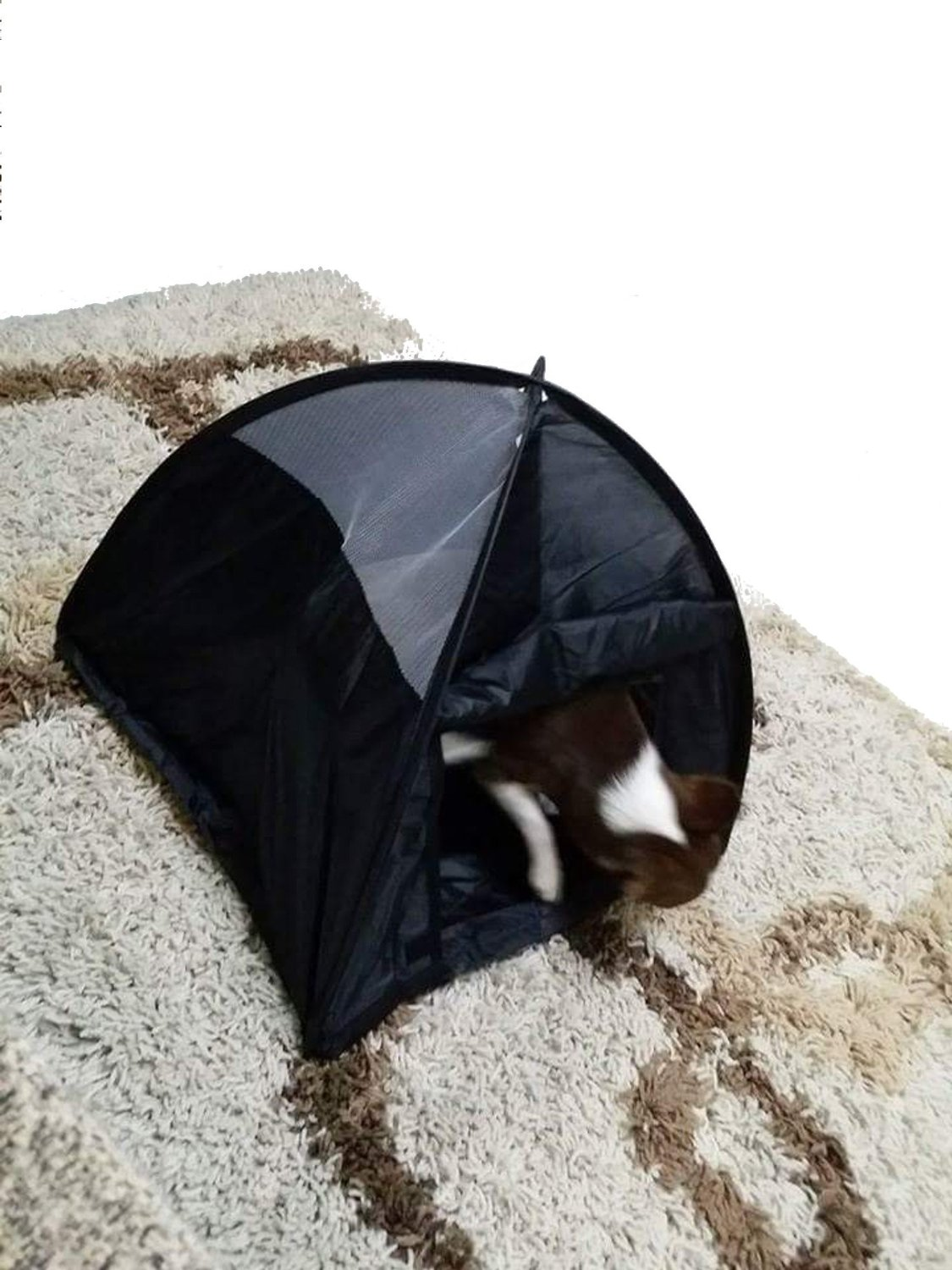 Small animals cat dog chihuahua pop up camping tent house for Cat tent