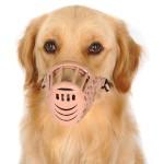 Alfie Pet by Petoga Couture - Gabby Adjustable Quick Fit Plastic Muzzle - Color- Beige 3