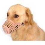Alfie Pet by Petoga Couture - Gabby Adjustable Quick Fit Plastic Muzzle - Color- Beige 4