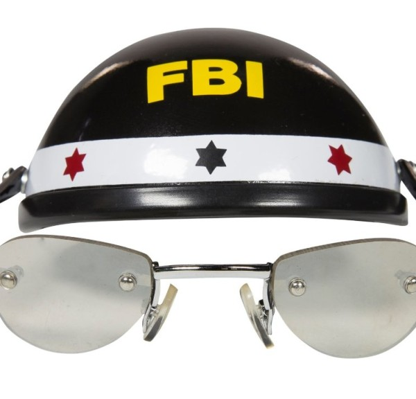 Cool Dog Hat & Shades (FBI)