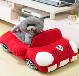 Jinpet Sports Cars Design Pet Beds For Small Dog Puppies Teddy Chihuahua Yorkie Cool Bed 2