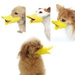 New York Mall HOT Novelty Cute Duckbilled Dog Muzzle Bark Bite Stop,anti-bite for Small Dog Dachshund Teddy Pet Dog 5