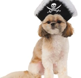 Rubies Costume Company 580307_S-M Pet Pirate Hat, Small-Medium