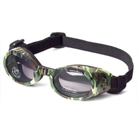Doggles ILS X-Small Green Camo Frame and Smoke Lens