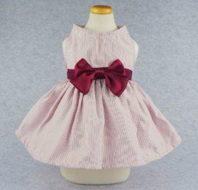 Fitwarm Elegant Ribbon Pet Clothes for Dog Dress Vest Shirts Apparel, Red 2