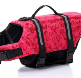 PetCee Dog Life Jacket Quick Release Easy-Fit Adjustable Pet Saver Life Jacket Dog Life Preserver Dog Life Vest