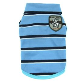 Alfie Pet by Petoga Couture - Marius Striped Polo Shirt 2