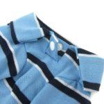 Alfie Pet by Petoga Couture - Marius Striped Polo Shirt 4