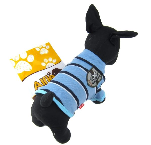 Alfie Pet by Petoga Couture - Marius Striped Polo Shirt