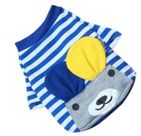 Binmer(TM) Fashion Pet Dog Clothes Cat Ears Bag Dog Pet Cat Spring Summer T Shirt Small Pet Clothes Vest