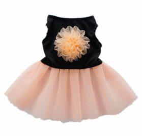 Fitwarm® Elgant Floral Dog Dress for Dog Tutu Stylish Dog Clothes Pet Dress