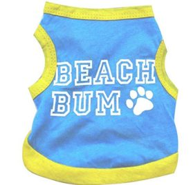 Ollypet Dog Summer Shirt Beach Bum New Arrivle for Small Pets Vest