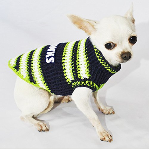 Seattle Seahawks Dog Clothes NFL Dog Jerseys Football Pet Costumes Puppy  Sweaters Super ... 362b3085a