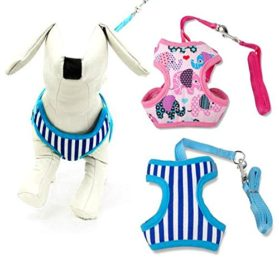 BOSUN(TM)Puppy Small Dog Harness and Walking Leads Set For Chihuahua 2