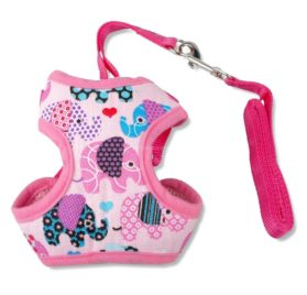 BOSUN(TM)Puppy Small Dog Harness and Walking Leads Set For Chihuahua