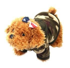 Binmer(TM) Puppy Dog Pet Warm Sweater Clothes Hoodie Shirt Puppy Autumn Winter Coat Doggy Fashion Jumpsuit Apparel 2