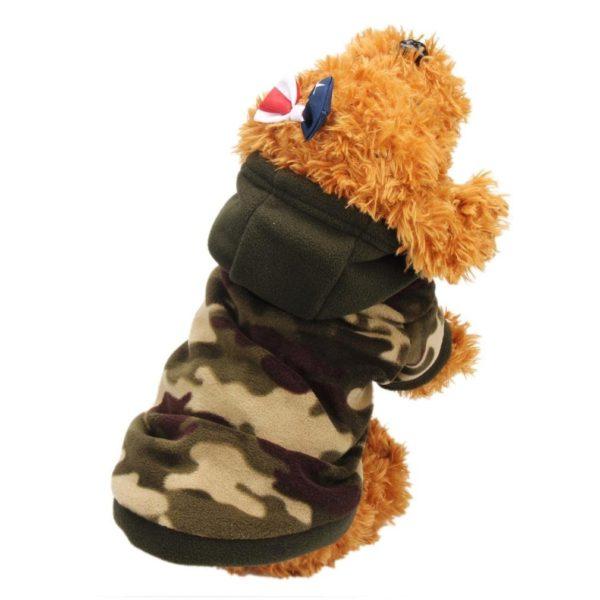 Binmer(TM) Puppy Dog Pet Warm Sweater Clothes Hoodie Shirt Puppy Autumn Winter Coat Doggy Fashion Jumpsuit Apparel