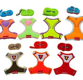 Ollypet Puppy Harness For Small Dogs No Pull Leash Set Comfort 7 Colors