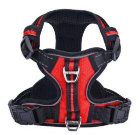 PUPTECK Best Front Range No-Pull Dog Harness with Vertical Handle,Calming Adjustable Reflective Outdoor Adventure Pet Vest