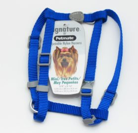 Petmate Adjustable Mini Dog Harness, Royal Blue 2