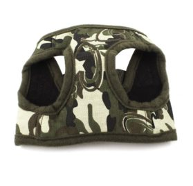 Uxcell Camouflage Pet Dog Cat Puppy Release Buckle Harness, X-Small, Green
