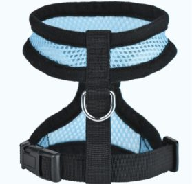 iBaste Soft Mesh Vest Harness for Small Dog Chihuahua Vest with D-ring Lightweight Harness Collar 2