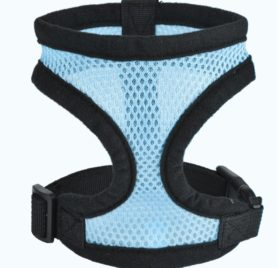 iBaste Soft Mesh Vest Harness for Small Dog Chihuahua Vest with D-ring Lightweight Harness Collar